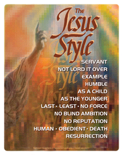 Jesus Style Poster